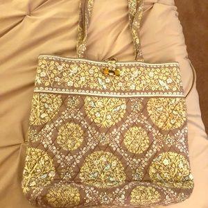 Vera Bradley bag set tote+ matching mini lunch bag